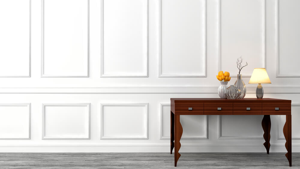 How to Decorate a Console Table in a Living Room