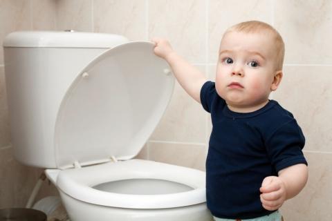toilet making hissing sound